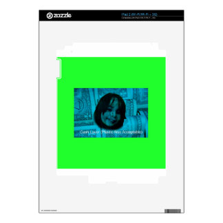 Cash Lover (Plastic Also Acceptable) Money Face Skin For The iPad 2