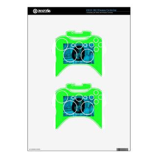 Cash Lover (Plastic Also Acceptable) Money Face Xbox 360 Controller Decal