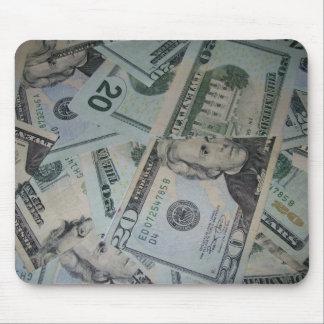 Cash Mouse Mouse Pad