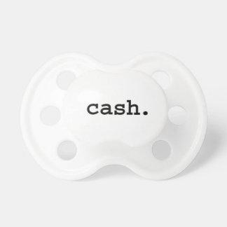 cash. pacifier