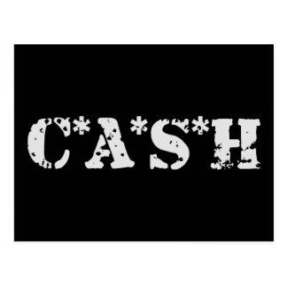 CASH POSTCARD
