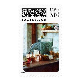 Cash Register in General Store Postage