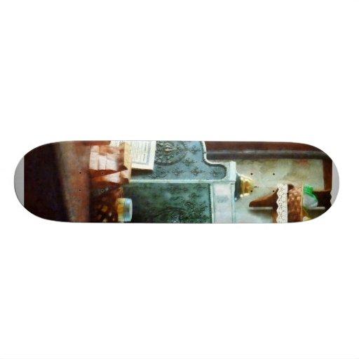 Cash Register in General Store Skate Board