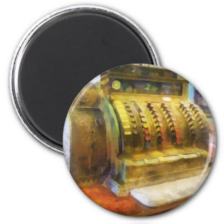 Cash Register in Pharmacy 2 Inch Round Magnet