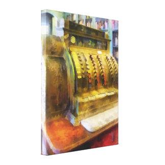 Cash Register in Pharmacy Canvas Print