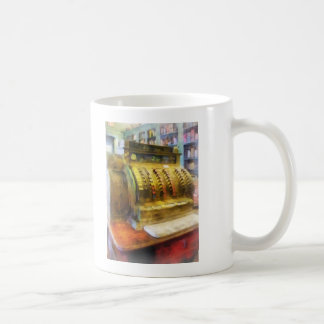 Cash Register in Pharmacy Coffee Mug