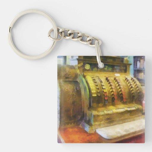 Cash Register in Pharmacy Keychain