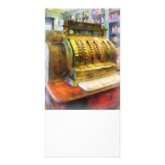 Cash Register in Pharmacy Photo Cards