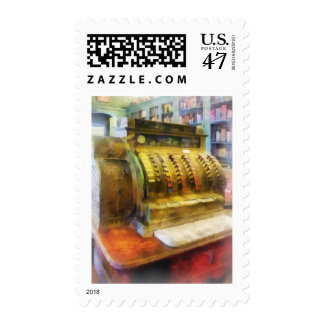 Cash Register in Pharmacy Postage