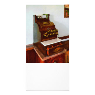 Cash Register Personalized Photo Card