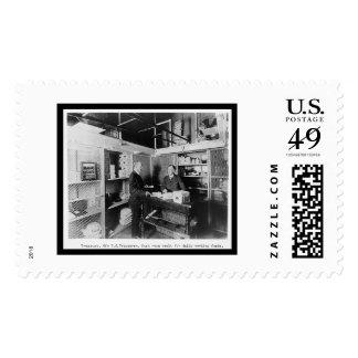 Cash Room in the US Treasury Vault 1912 Postage