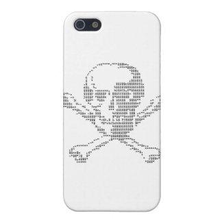 Cash Skull from Jolly Roger ascii art Case For iPhone SE/5/5s