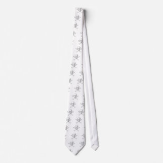 Cash Skull from Jolly Roger ascii art Neck Tie