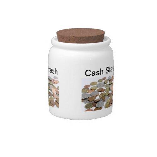 Cash Stash Candy Jar
