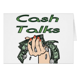 Cash Talks Card