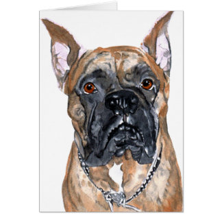 Cash the Boxer Notecard Stationery Note Card