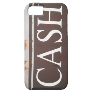 CASH Tow Truck Vintage Car Sign iPhone 5/5S Cases