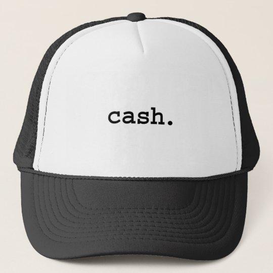cash. trucker hat