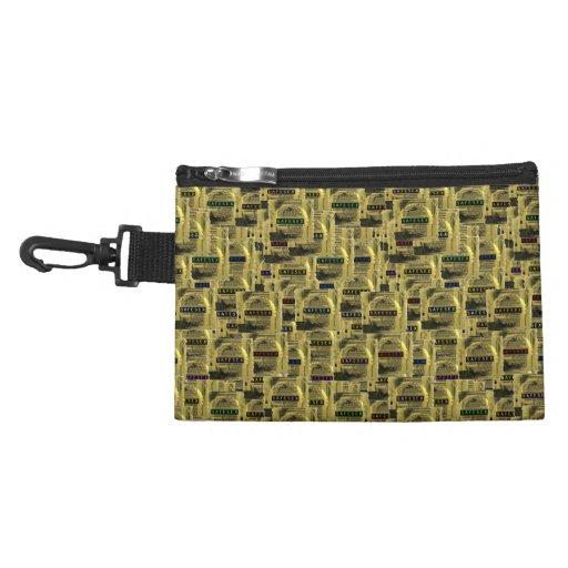 CashandKima's Exclusive *GOLDEN TICKET POCKET*sml Accessories Bag
