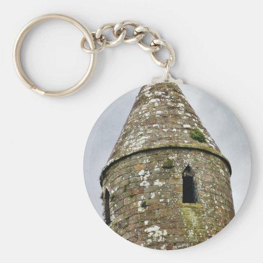 Cashel Round Tower Key Chain
