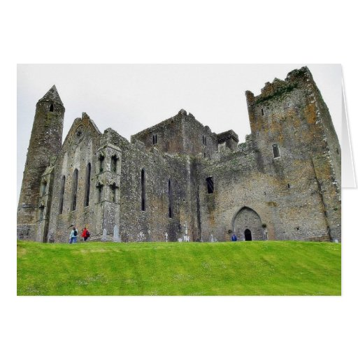 Cashel Ruins Castles Round Towers Greeting Card