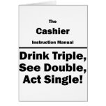 cashier greeting cards