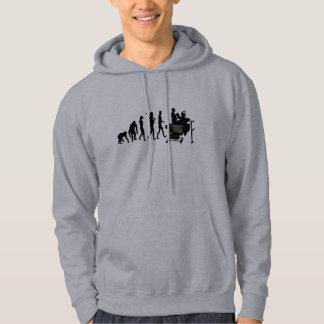 Cashier till operator supermarket staff gear hooded pullover