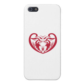 Cashmere Goat Head Retro Cover For iPhone SE/5/5s