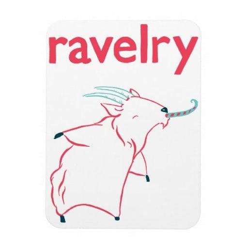 Cashmere Goat Ravelry Magnet