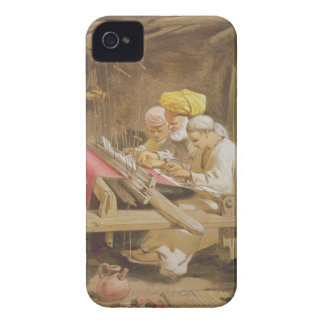 Cashmere Shawls: Weaving, 1863 (chromolitho) iPhone 4 Case-Mate Case