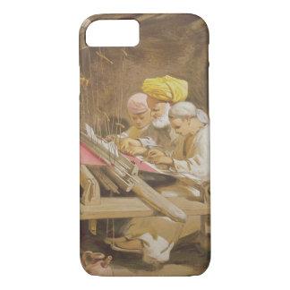 Cashmere Shawls: Weaving, 1863 (chromolitho) iPhone 8/7 Case