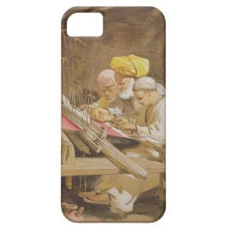 Cashmere Shawls: Weaving, 1863 (chromolitho) iPhone SE/5/5s Case