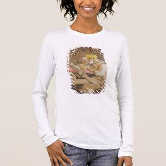 Cashmere Shawls: Weaving, 1863 (chromolitho) Long Sleeve T-Shirt