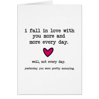 Casi cada día tarjeta de felicitación