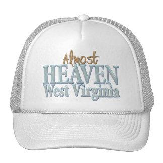 Casi cielo Virginia_1 del oeste Gorras