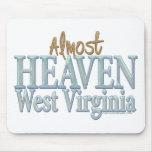 Casi cielo Virginia_1 del oeste Alfombrilla De Raton