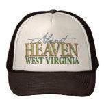 Casi cielo Virginia_2 del oeste Gorros Bordados