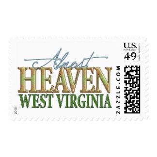 Casi cielo Virginia_2 del oeste Sellos