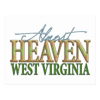 Casi cielo Virginia_2 del oeste Postales