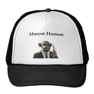 Casi humano gorros bordados