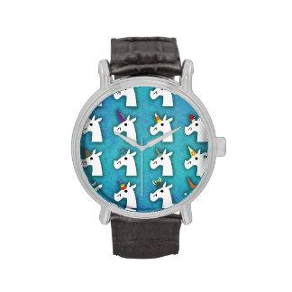 Casi reloj del unicornio