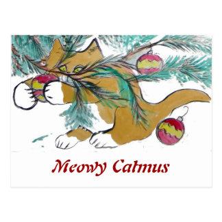 Casi téngalo, dice el gatito del jengibre postales