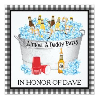 """Casi un fiesta de la cerveza de la fiesta de invitación 5.25"""" x 5.25"""""""