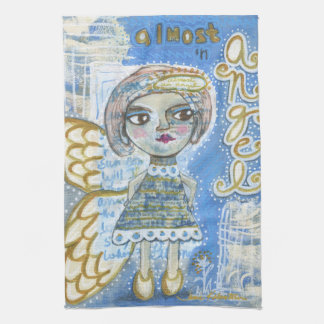 """Casi un té Towl del ángel - """"Lisa """" Toalla De Cocina"""