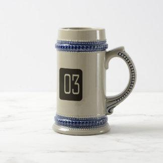 Casilla negra #3 jarra de cerveza