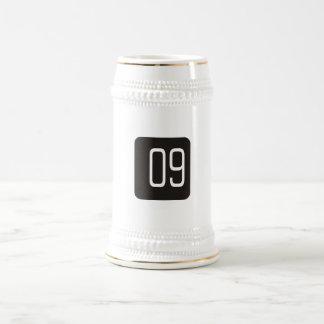 Casilla negra #9 jarra de cerveza