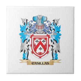 Casillas Coat of Arms - Family Crest Ceramic Tile