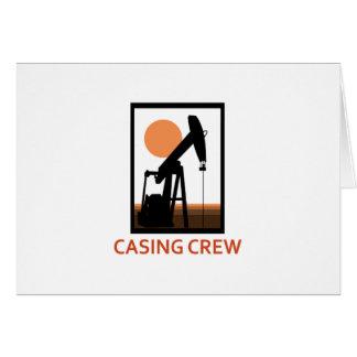 Casing Crew Card