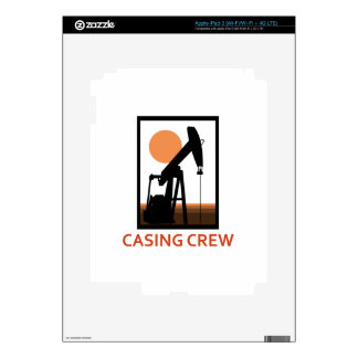 Casing Crew Decal For iPad 3
