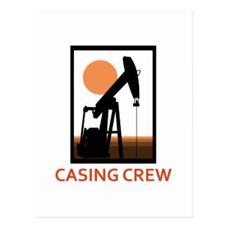 Casing Crew Postcard